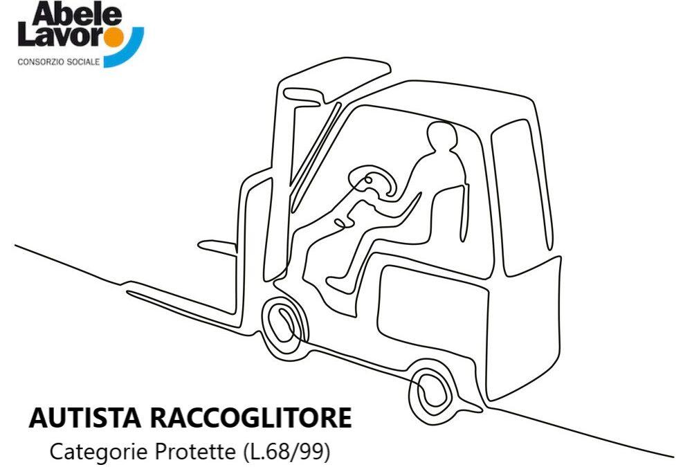 AUTISTA RACCOGLITORE CATEGORIE PROTETTE (L.68/99)