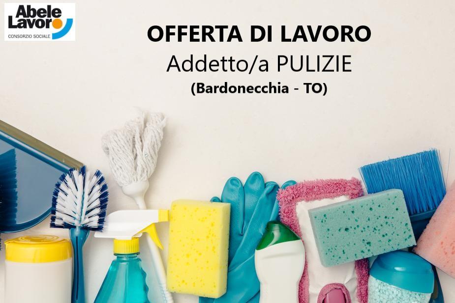 CERCASI ADDETTO/A PULIZIE c/o Bardonecchia (TO)