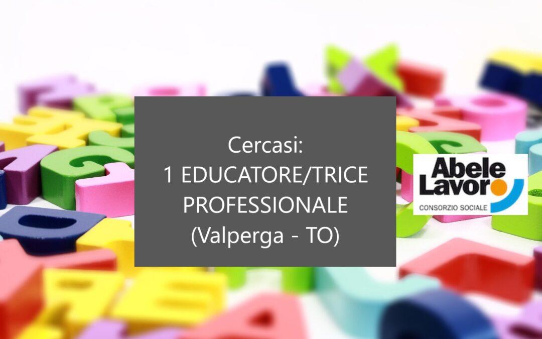 Cercasi 1 EDUCATORE/TRICE PROFESSIONALE – Valperga (TO)